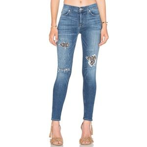 Hudson Nico Mid-Rise Ankle Super Skinny Jean